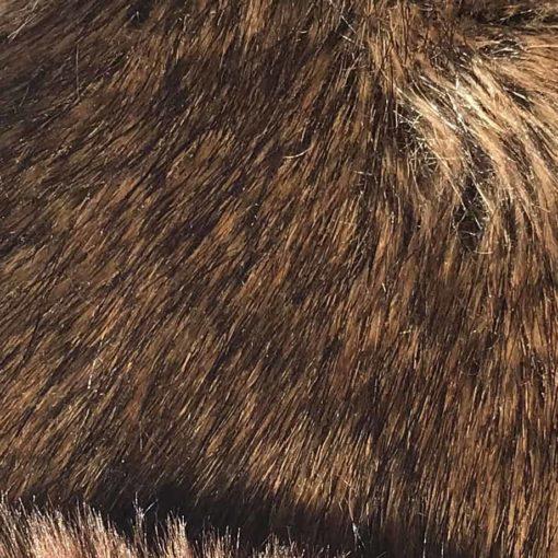 Brown Bear Faux fur throw. Luxury dog blankets