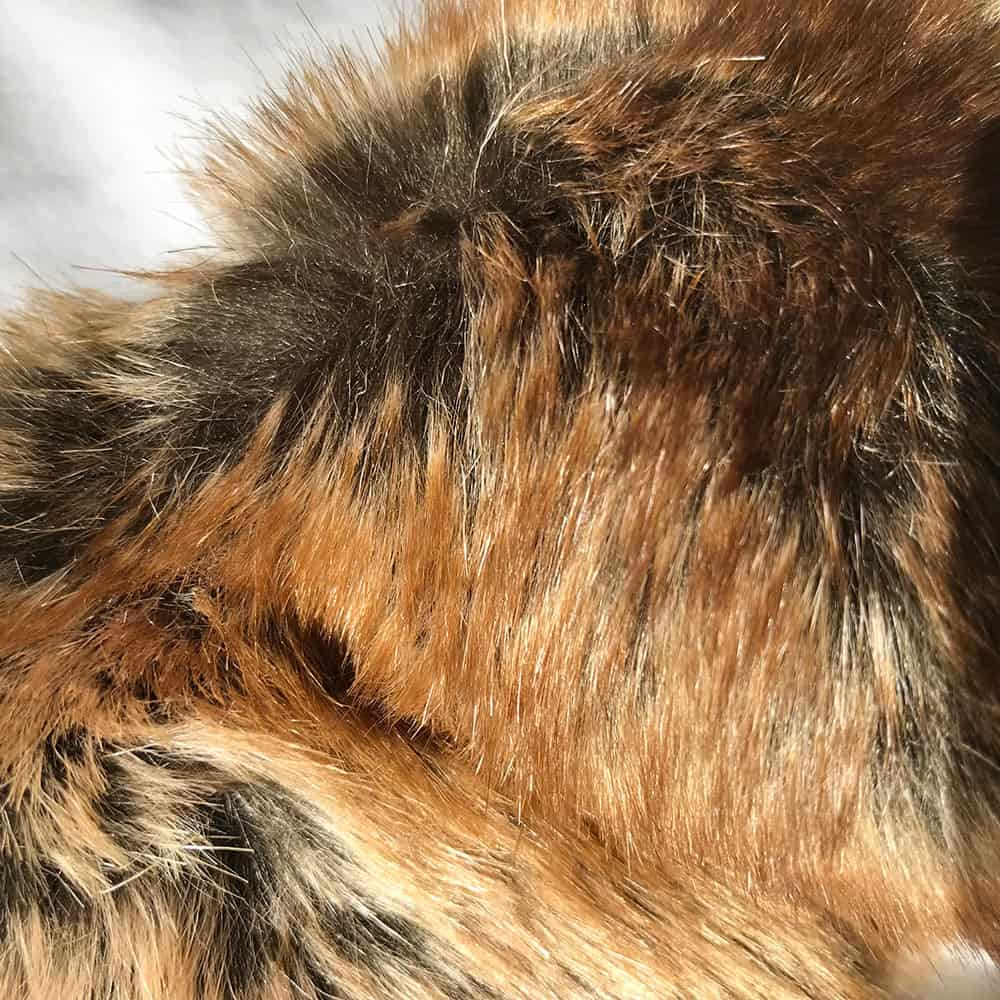 Madagascar faux fur dog blanket throw