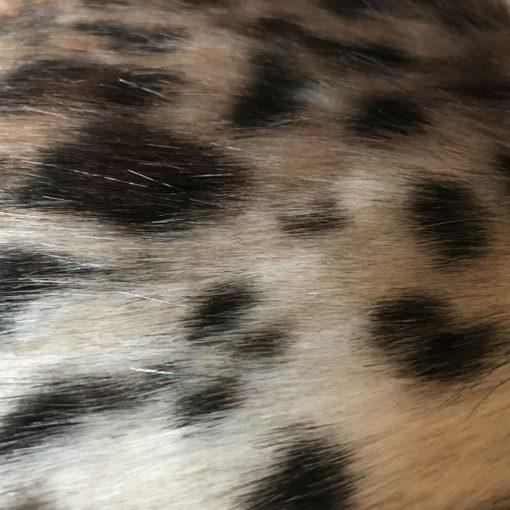 New Ocelot faux Fur balnket