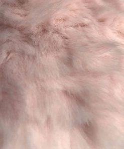 Pink Ripple Faux Fur Dog Blanket Throw