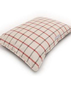Nottingham Check Pillow Dog Bed