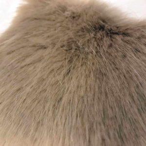 Honey faux Fur Dog Blanket Throw