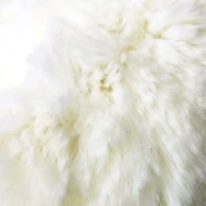 Cream Softie faux Fur Dog Blanket Throw