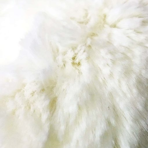 Cream Softie faux Fur Dog Blanket Throw