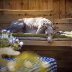 Outdoor garden bench topper