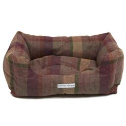 Tweed Boxy Dog Bed