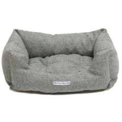 Stoneham Tweed Boxy Dog Bed